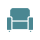 Quiet Seating Area Icon
